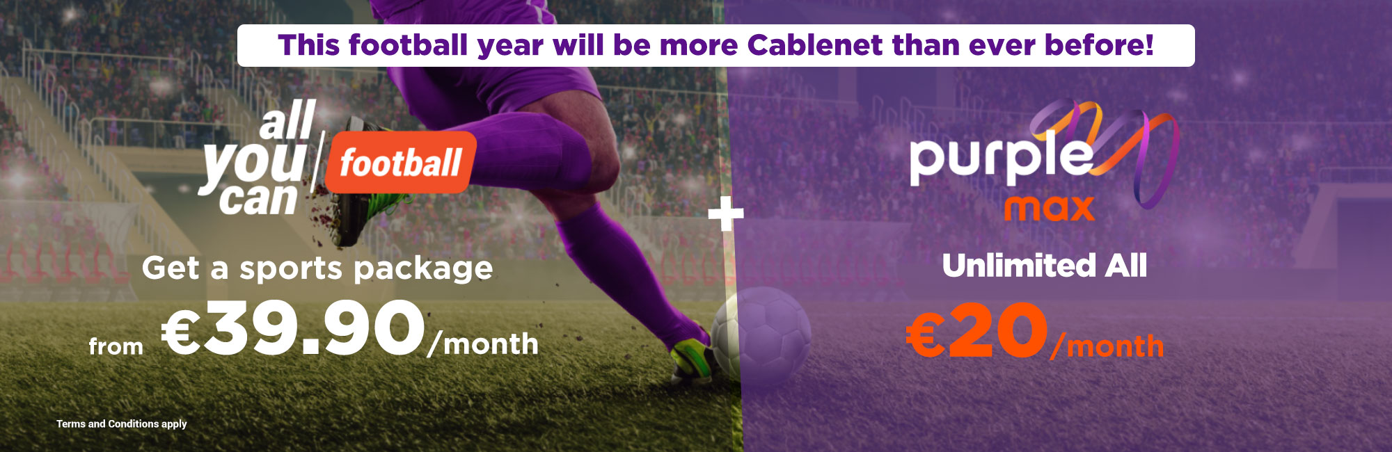 TV Packages   Sports Channels - Cablenet